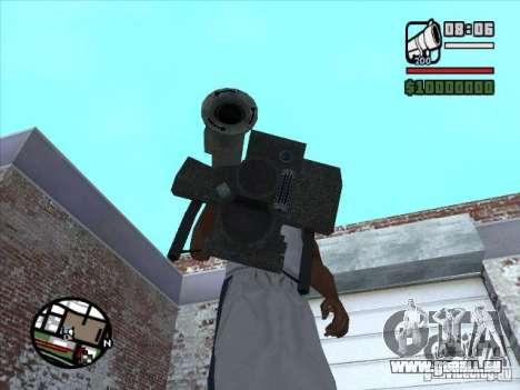 FGM-148 Dževlin pour GTA San Andreas deuxième écran