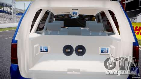 Lincoln Navigator 2004 pour GTA 4 Salon