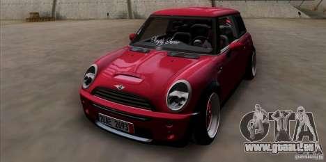 Mini Cooper S Euro pour GTA San Andreas