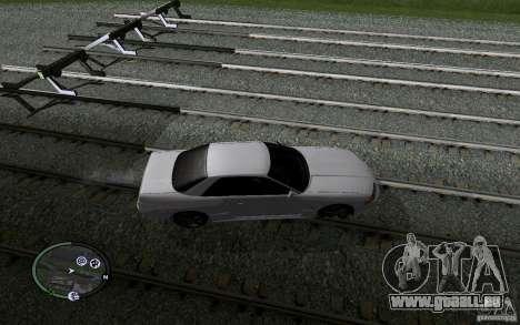 Rails russes pour GTA San Andreas onzième écran