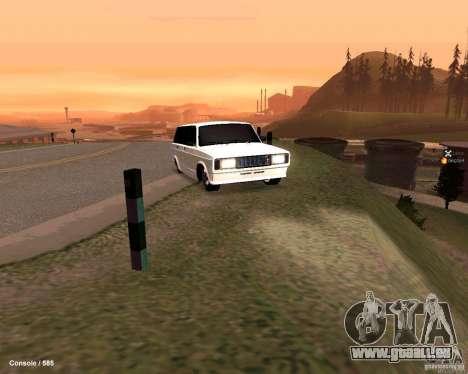 VAZ 2104 pour GTA San Andreas vue de côté