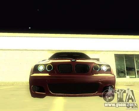 BMW 330 Ci pour GTA San Andreas vue de droite