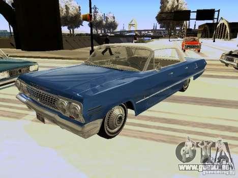 Chevrolet Impala 4 Door Hardtop 1963 pour GTA San Andreas