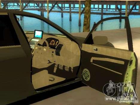 Nissan Skyline 300 GT pour GTA San Andreas vue de dessus