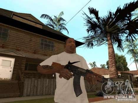 Kalachnikov AK-47 pour GTA San Andreas