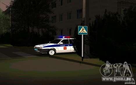 VAZ 21099, Polizei für GTA San Andreas rechten Ansicht