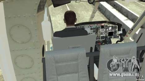NYPD Bell 412 EP pour GTA 4 vue de dessus