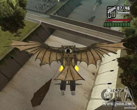 Machine volante de Leonardo da Vinci pour GTA San Andreas