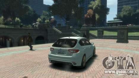 Subaru Impreza WRX STI für GTA 4 linke Ansicht
