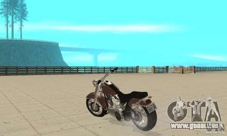 GTAIV Bobber für GTA San Andreas zurück linke Ansicht