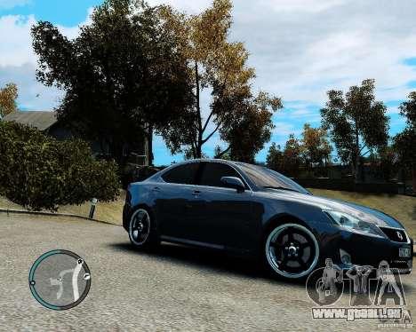Lexus IS350 2006 v.1.0 pour GTA 4 est un côté