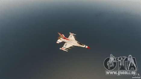 F-16C Fighting Falcon für GTA 4 Seitenansicht