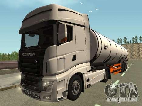 Scania R700 Euro 6 für GTA San Andreas