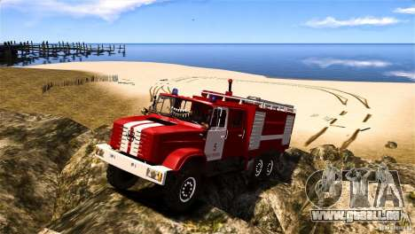 ZIL 433474 Feuerwehrmann für GTA 4