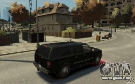 Chevrolet Suburban 2003 FBI für GTA 4 rechte Ansicht
