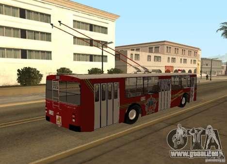 ZiU 682 für GTA San Andreas Rückansicht