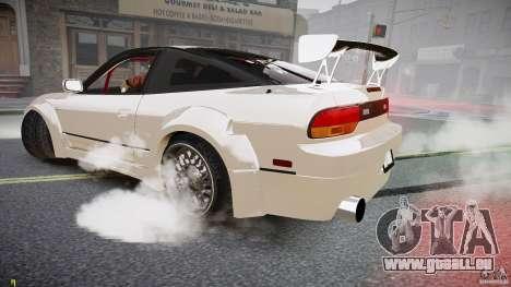 Nissan Sileighty pour GTA 4 Vue arrière
