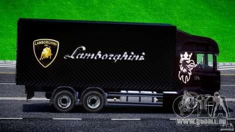 Scania R580 Tandem für GTA 4 Rückansicht