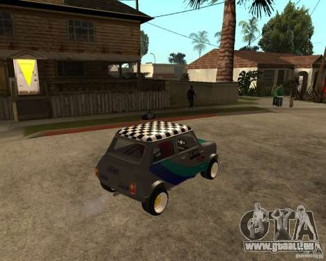 Mini Cooper pour GTA San Andreas vue de droite