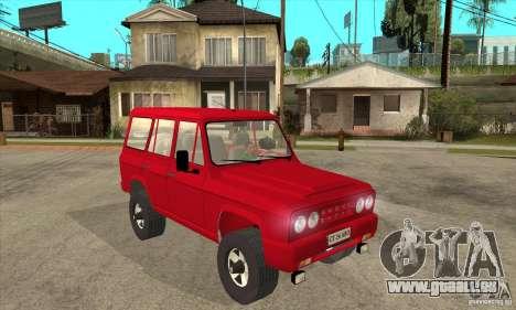 ARO 244 pour GTA San Andreas vue arrière