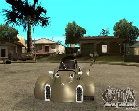 Messerschmitt GT500 Tiger Hard tuned pour GTA San Andreas vue arrière