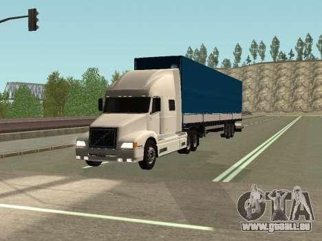 Volvo VNL pour GTA San Andreas laissé vue