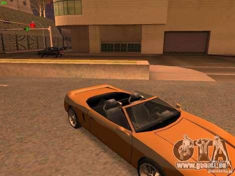 Infernus Revolution pour GTA San Andreas vue intérieure