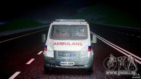 Ford Transit Polish Ambulance [ELS] pour GTA 4 est un côté