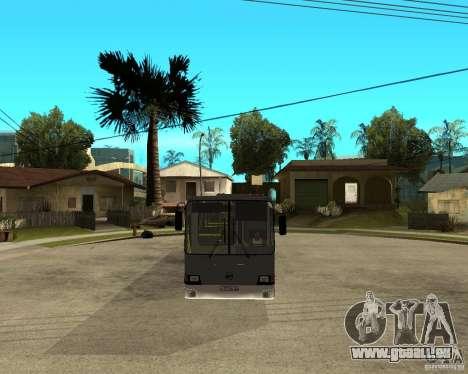 LIAZ 5256.25 Neugestaltung für GTA San Andreas Rückansicht