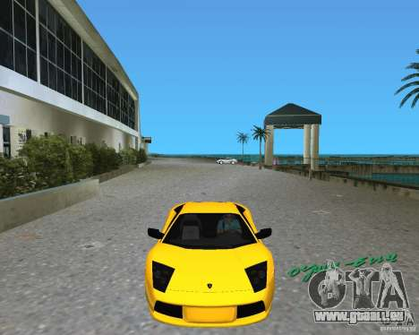 2005 Lamborghini Murcielago pour une vue GTA Vice City de la gauche