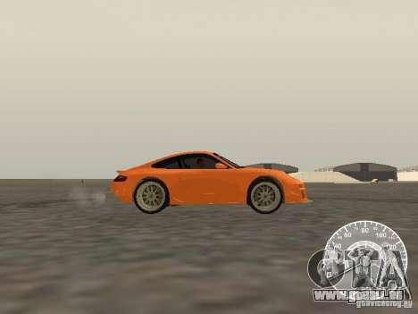 Porsche 911 GT3 Style Tuning für GTA San Andreas linke Ansicht