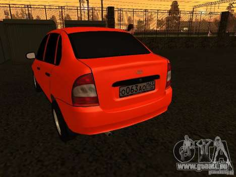 VAZ 1118 pour GTA San Andreas vue de droite