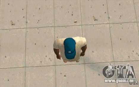 Cap bleu newyorkyankiys pour GTA San Andreas troisième écran