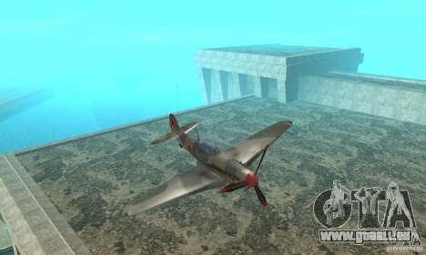 L'yak-9 en livrée, Sébastopol pour GTA San Andreas vue intérieure