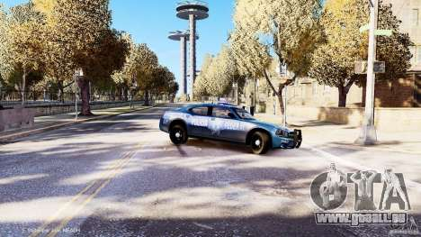 POLICIA FEDERAL MEXICO DODGE CHARGER ELS für GTA 4 obere Ansicht