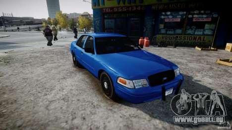 Ford Crown Victoria Detective v4.7 [ELS] für GTA 4 rechte Ansicht