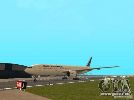 Boeing 777-200 Air France für GTA San Andreas