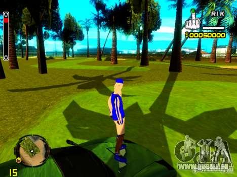 Haut Penner v4 für GTA San Andreas dritten Screenshot