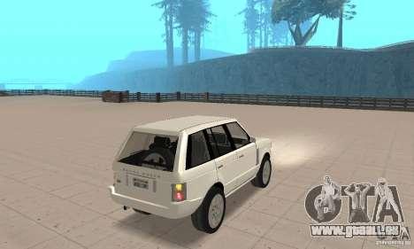 Range Rover Vogue 2003 für GTA San Andreas linke Ansicht
