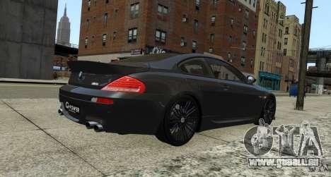 BMW M6 Hurricane RR pour GTA 4 est un droit