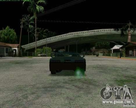 Supergt - Police S für GTA San Andreas rechten Ansicht