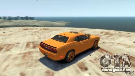 Dodge Challenger SRT8 für GTA 4 Rückansicht