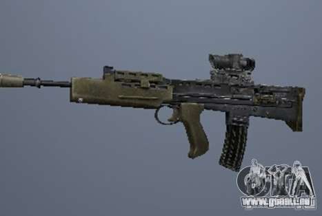 Eine Reihe von Waffen aus Stalker V3 für GTA San Andreas sechsten Screenshot