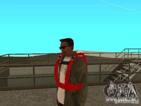 Parachute de TBOGT pour GTA San Andreas deuxième écran