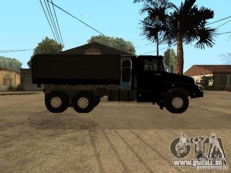 KAMAZ-4355 pour GTA San Andreas vue de droite