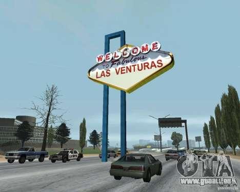 Real New Vegas v1 pour GTA San Andreas quatrième écran