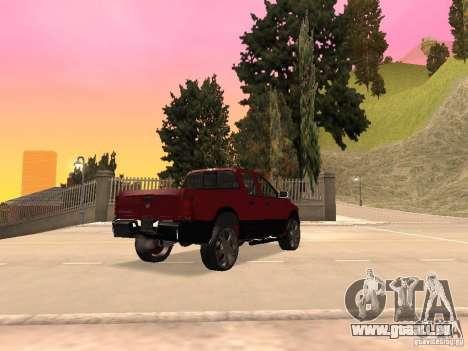 Dodge Ram 2010 für GTA San Andreas linke Ansicht