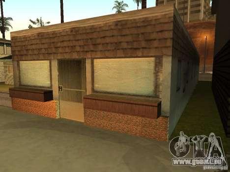 La maison modifiée sur la plage de Santa Maria 2 pour GTA San Andreas deuxième écran