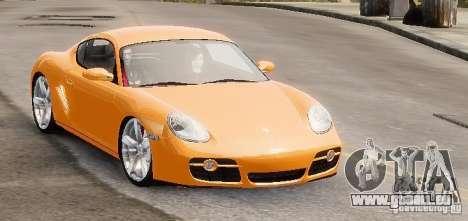 Porsche Cayman pour GTA 4 est un droit