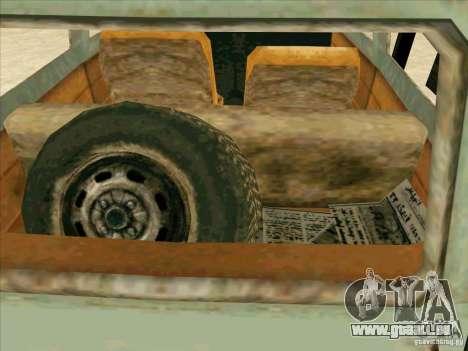 Auto von COD 4 MW für GTA San Andreas obere Ansicht
